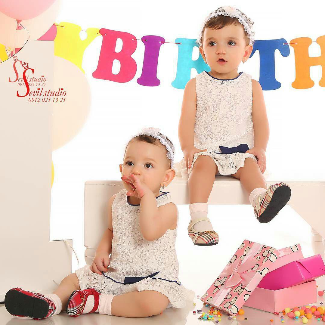 عکس تولد کودک در آتلیه - آتلیه عکاسی کودک